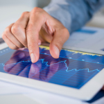 Monitoring different revenue streams with tablet